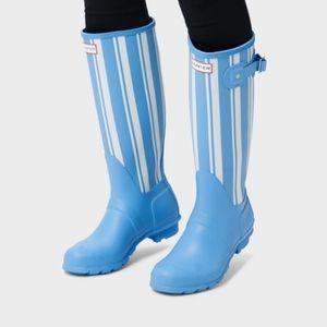 Hunter Original Garden Stripe Tall Rain Boots